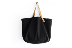 Olivia TOTE bag, Shopping bag, Shopper made of canvas and italian leather personalized with name