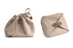 Bucket bag, shoulder bag made of italian leather, vegetable tanned and oiled. Agata bucket bag