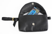 Load image into Gallery viewer, Clutch, Waist bag or belt bag made of italian leather