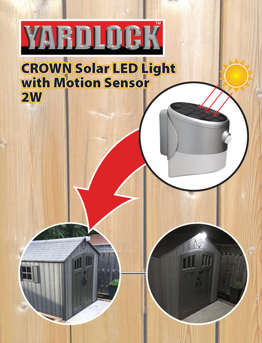 2 Watt Crown Solar Light