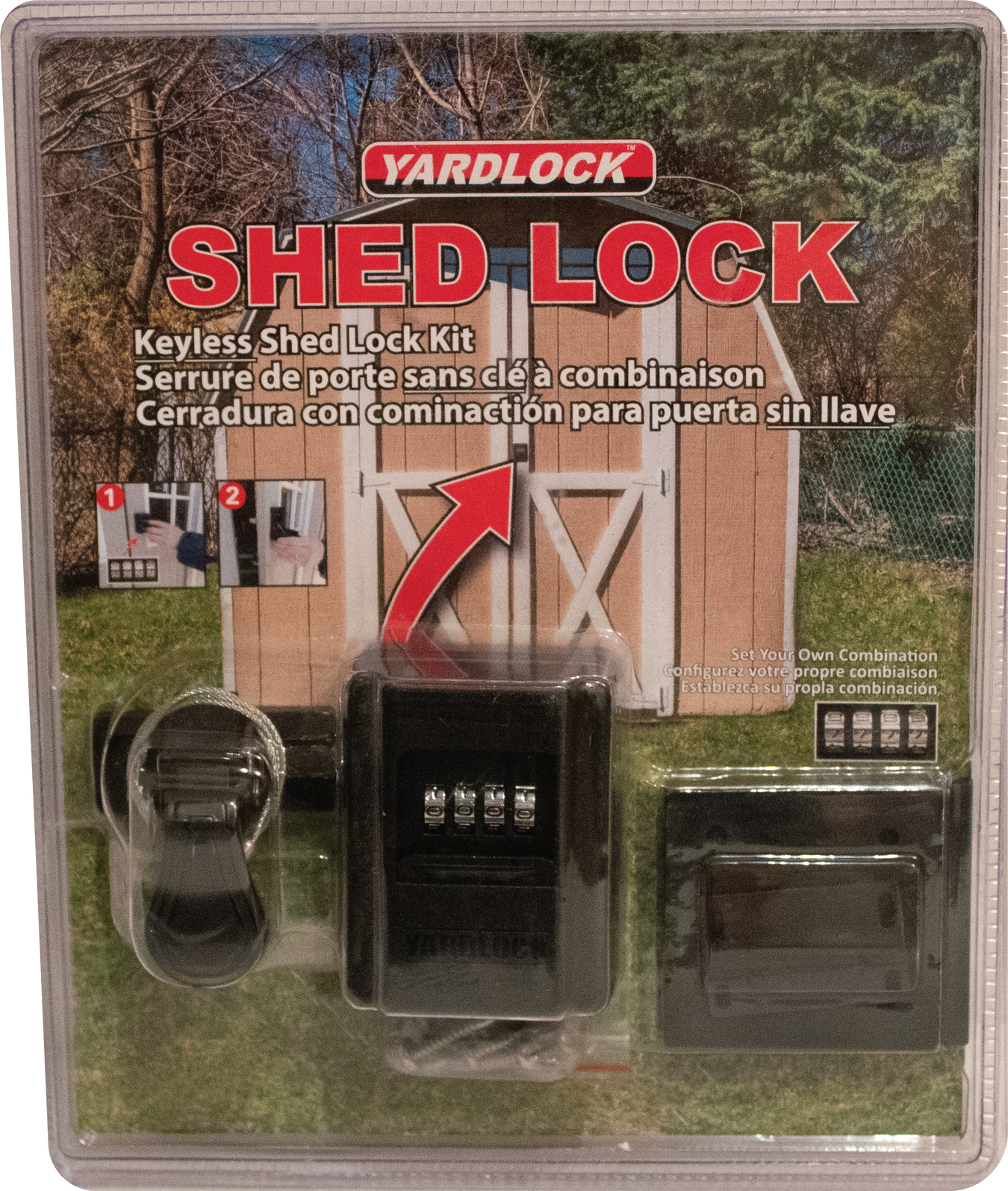 SHED LOCK