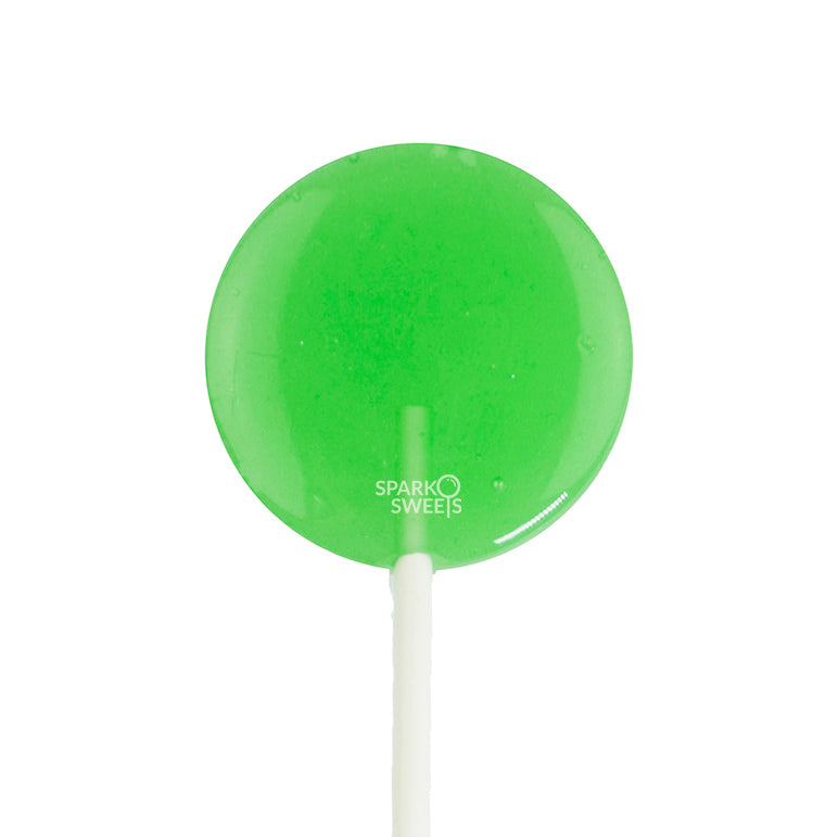 CBD Lite Green Apple Flavor Lollipops - 6 Pieces