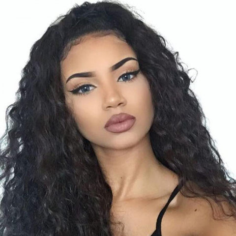 360 Lace Frontal Curly Wig Pre-Plucked