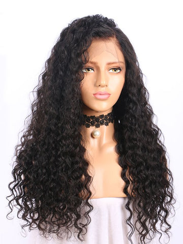 Full Lace Brazilian Pre-plucked Curly Wig
