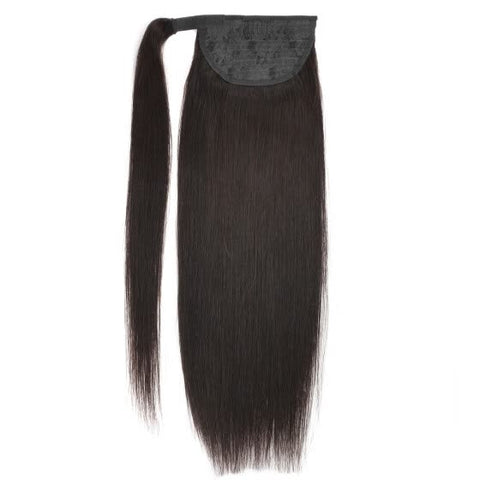 Drawstring Ponytail Straight Hair Extension Clip-Ins