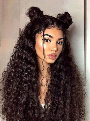 Lace Front Silk Loose Wave Wig