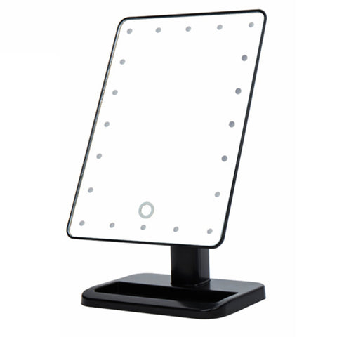 LED Illuminated Light Mirror With Stand
