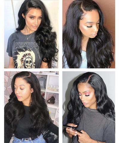 Transparent Full Lace Wig With Baby Hair