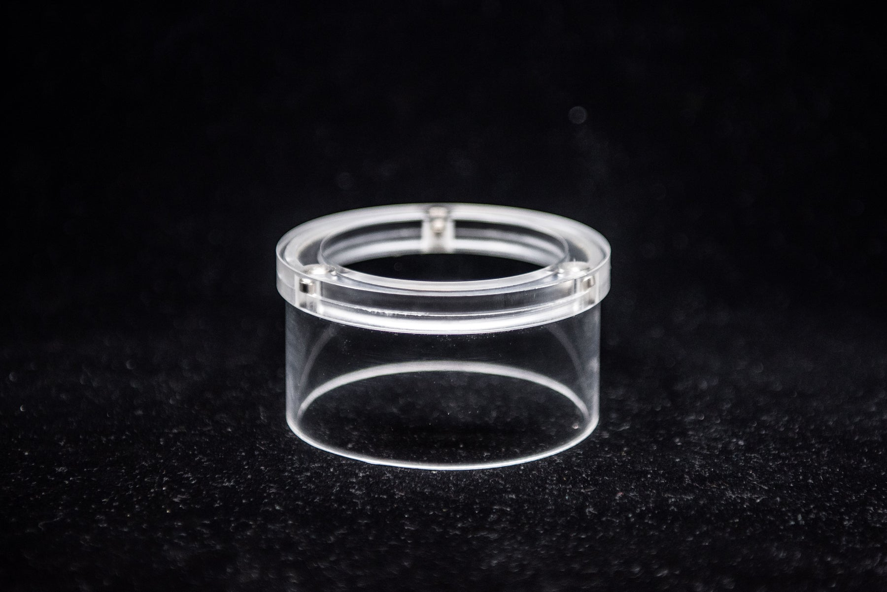 40mm Clear Tube Ring