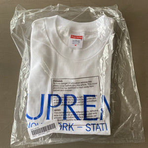 Supreme Nuovo York Tee (Medium)