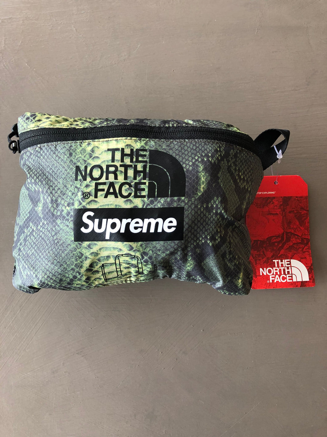 Supreme x The North Face Snakeskin Duffle Bag
