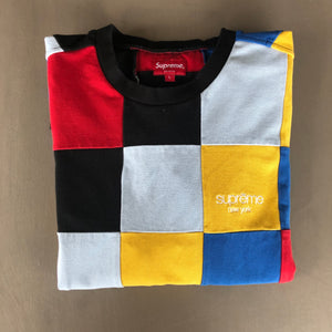 Supreme 2019 patchwork tee