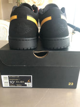 Load image into Gallery viewer, Air Jordan 1 Low (Black/University Gold)