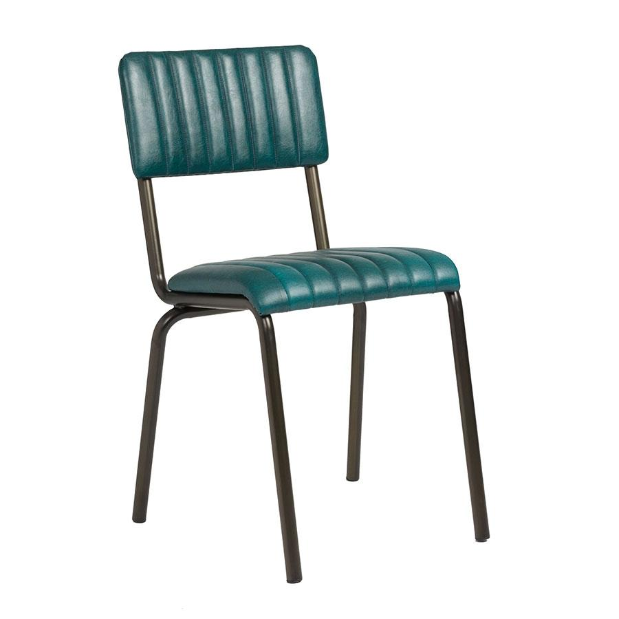 Industrial retro dining chairs  | Elderflowerlane