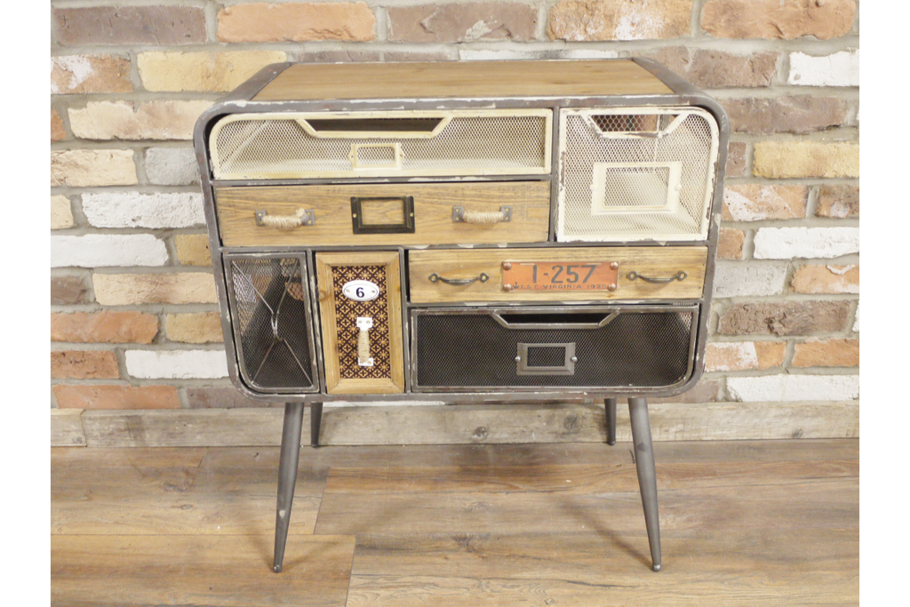 Pretty Storage Cabinet - chest of drawers. Retro industrial Style