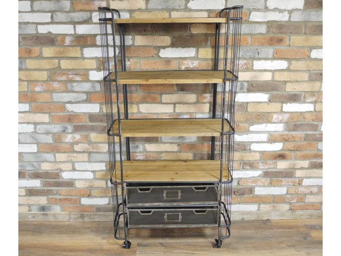 Industrial baker shelving unit - cabinet.