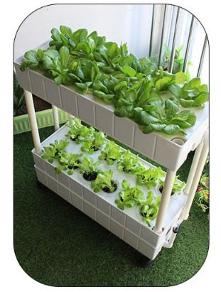 Multi Tier Movable Smart Planter with Grow Lights - GreenLit Grow