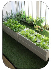Multi Tier Movable Smart Planter with Grow Lights