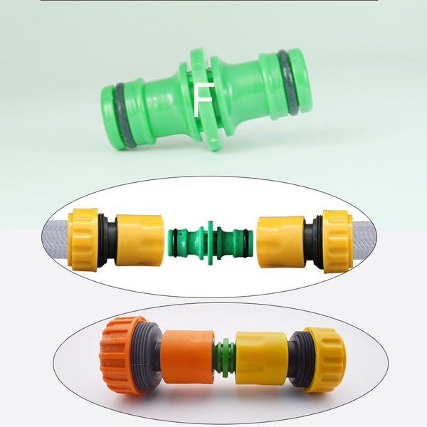 Gardening Accessories Outdoor Garden Hose Fittings Adapter Quick Connector - GreenLit Grow