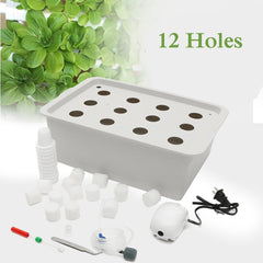 12 Holes Plant Site Hydroponic Garden Planting System for Indoor Grow