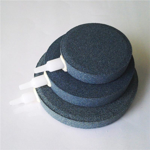 1pcs 40/60/80/100mm Bubble Oxygen Plate Stone Aerator for Aquarium Hydroponic - GreenLit Grow