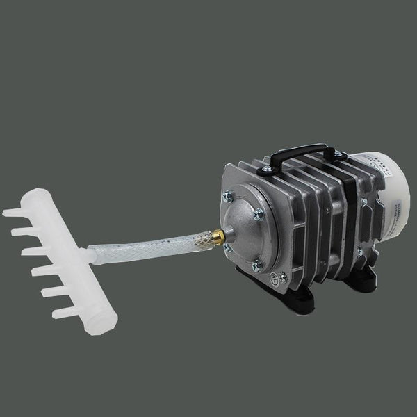 50L/min 35W Hydroponics Commercial Air Pump Compressor Electromagnetic - GreenLit Grow