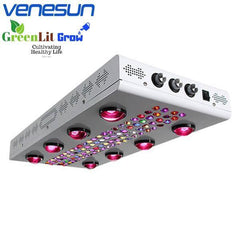 COB LED Grow Lights 1200W with Dimmable Bloom & Full Spectrum Four Modes for Indoor Plants Different Growing Stages