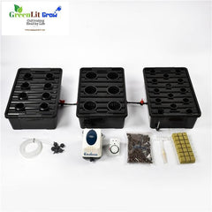 Complete 3 in 1  Big DWC bucket Hydroponics system
