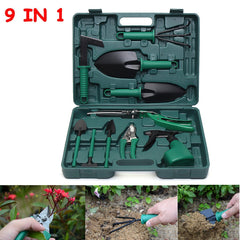 10PCS Carbon Steel Gardening Garden Bonsai Tool Kit Cutter Scissors Shear