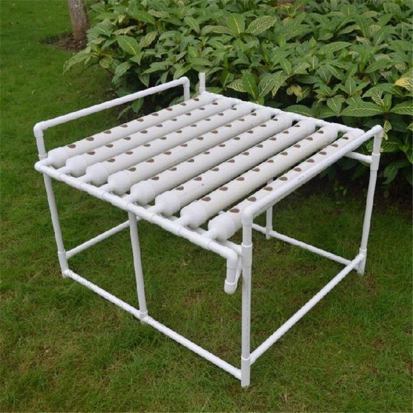 72 Site Garden Vegetable Planting System Soilless Cultivation Plant Deep Water Seedling Grow Box Holder Hydroponic Site Grow Kit - GreenLit Grow