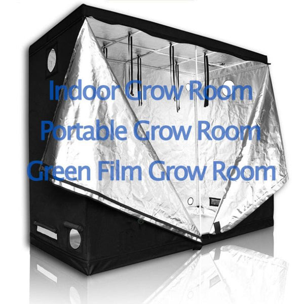 Grow Tent For Indoor Hydroponics Greenhouse. Multiple Size Variants. - GreenLit Grow