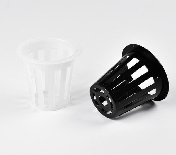 (25pcs/pack) Mesh pot. Net cup in 5CM for  Hydroponics system ,Root support. - GreenLit Grow