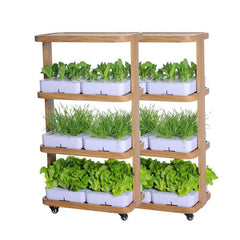 Smart 120W Eco-Kitchen Home Gardening Indoor Farming Hydroponic System