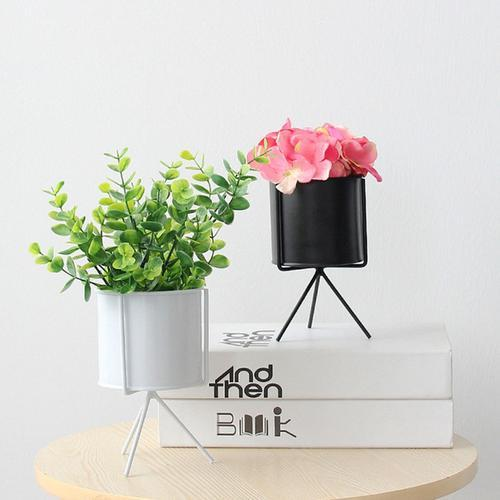 Iron Plant Vase Stand Garden Decor Planter Holder - GreenLit Grow