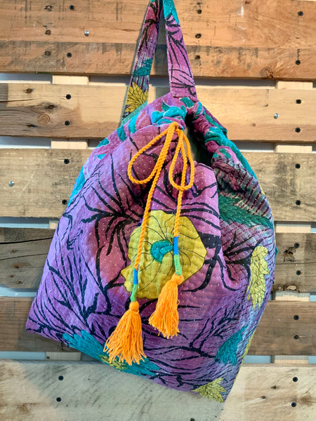 The Arches Kantha Knapsack
