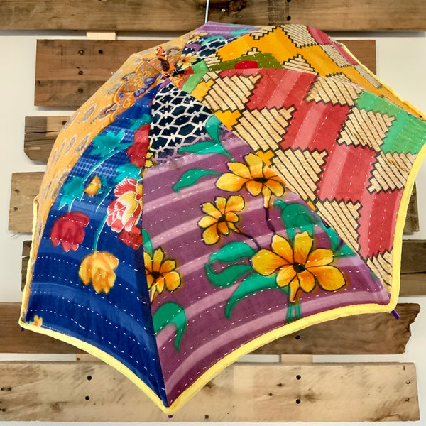The New Wave Kantha Parasol