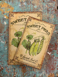 Sweet Peas Treasure Box