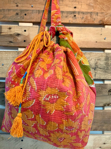 The Waikiki Kantha Knapsack