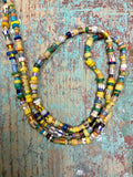 Vintage Authentic African Glass Beads