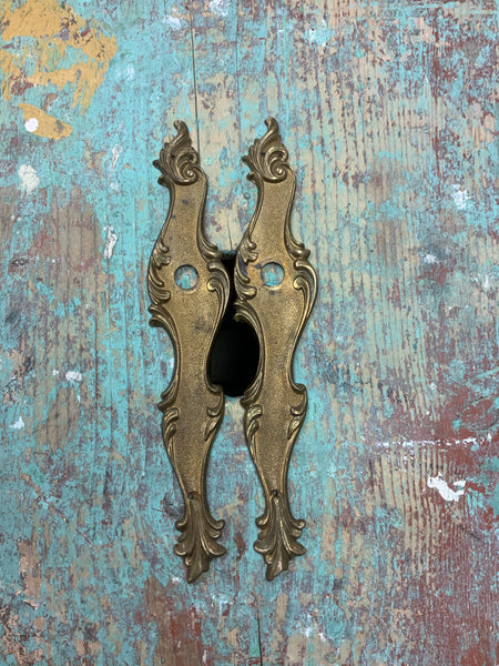 Brass Door Plate (Pair)