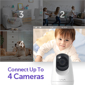 "VAVA Baby Monitor, HD 720P 5"" IPS Display Screen with Camera and Audio"