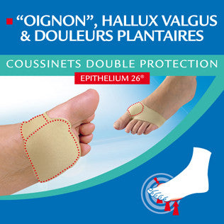 Coussinet plantaire double protection Epitact
