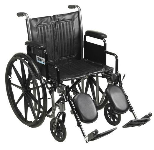Fauteuil roulant Silver Sport 2 avec appui-jambes