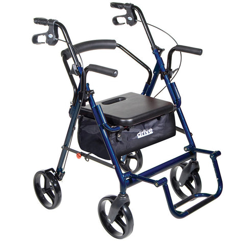 Ambulateur fauteuil de transport 2 en 1 Duet de Drive