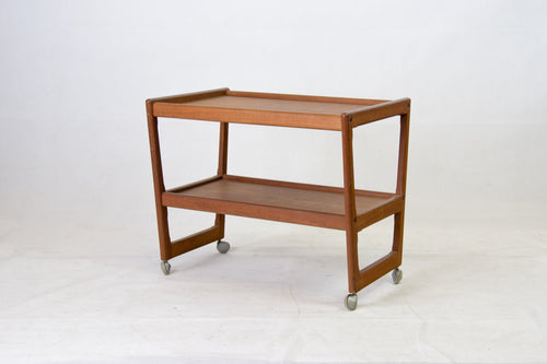 teak serving trolley from Denmark