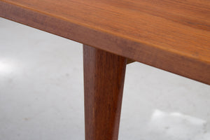 large teak couch table danish design