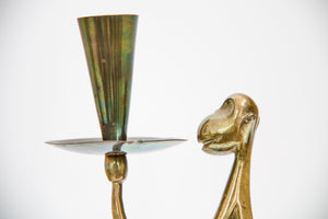 "candle holder ""Affe"" by Karl Hagenauer"