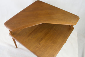 Minerva sofa table in solid teak by Peter Hvidt and Orla Molgaard Nielsen for France & son
