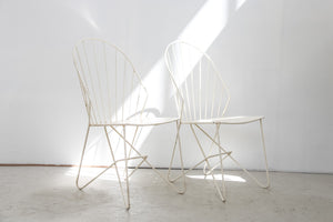 "Set of two chairs ""Sonett"" by  J. O. Wladar & V. Mödlhammer for Karl Fostel Wien"