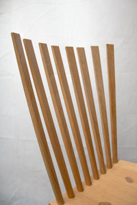 "Set of 10 chairs ""Mikado"" by Johannes Foersom & Peter Hiort-Lorenzen."
